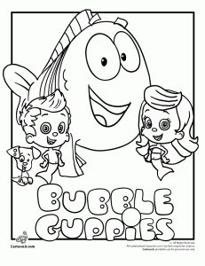 30 best Bubble Guppies Birthday images on Pinterest  Bubble