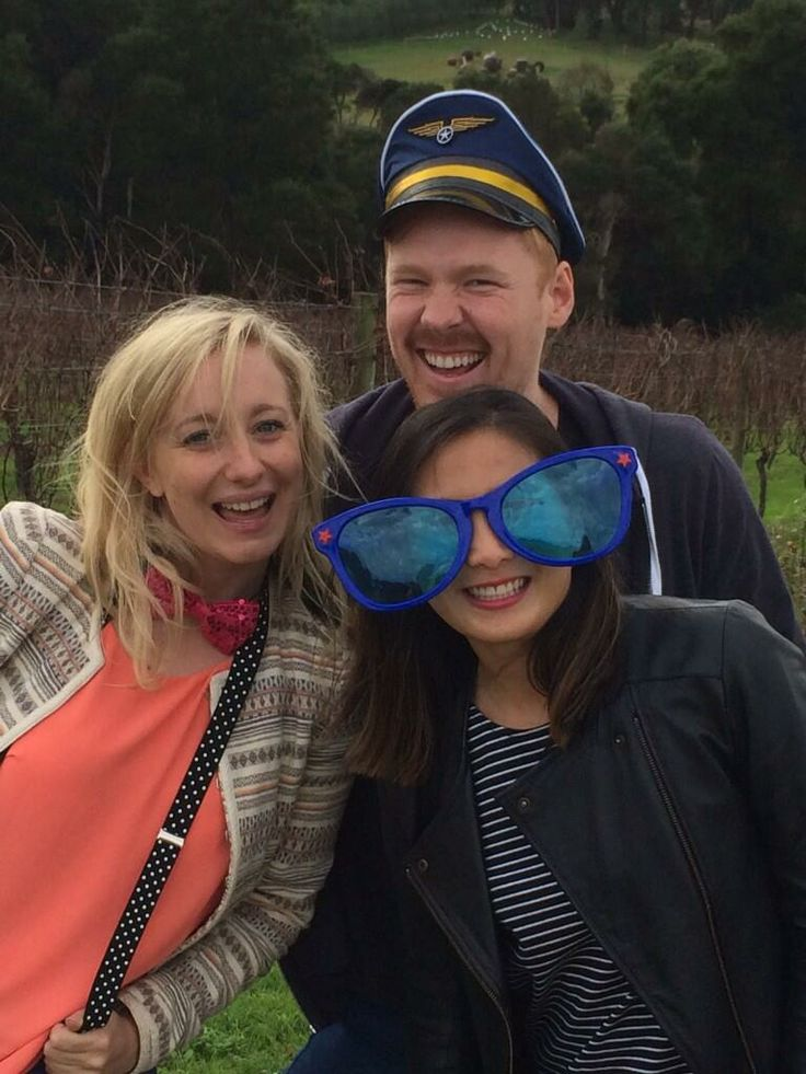 A great day out with these crazy kids at the Mornington Peninsula wineries.