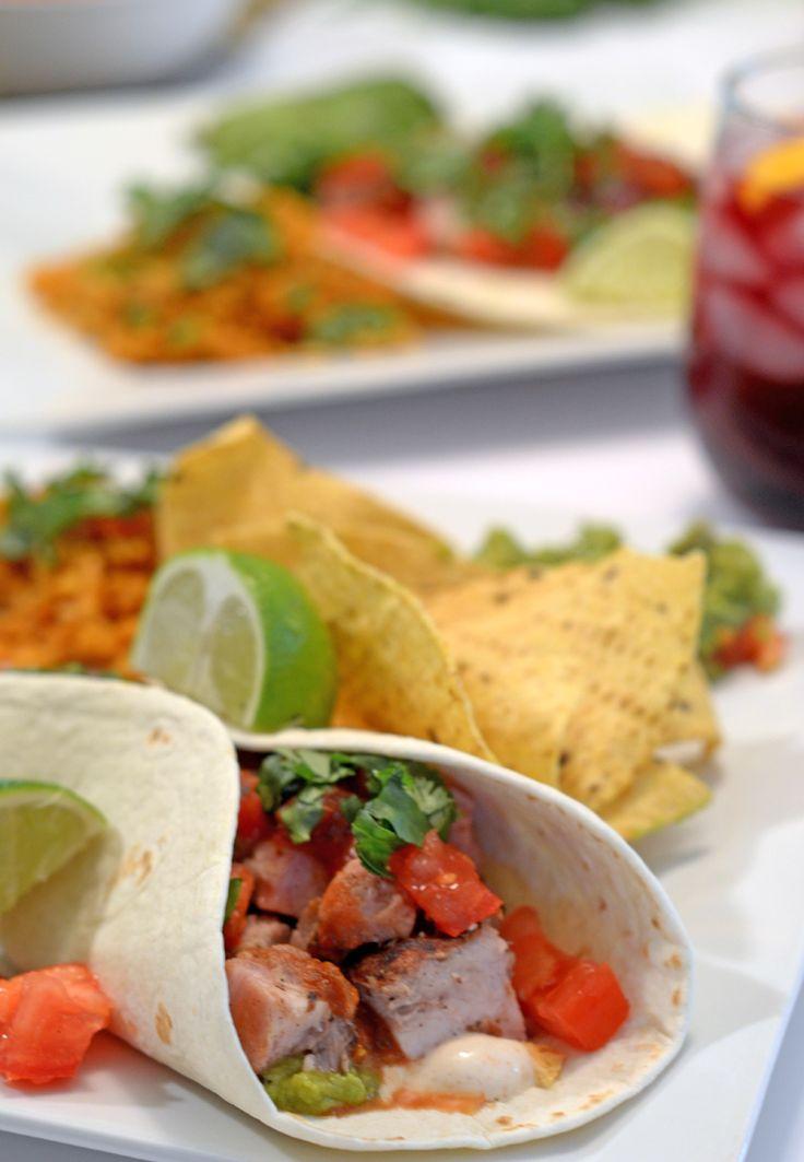 Tacos de cerdo sorbrantes (Leftover Pork Tacos)