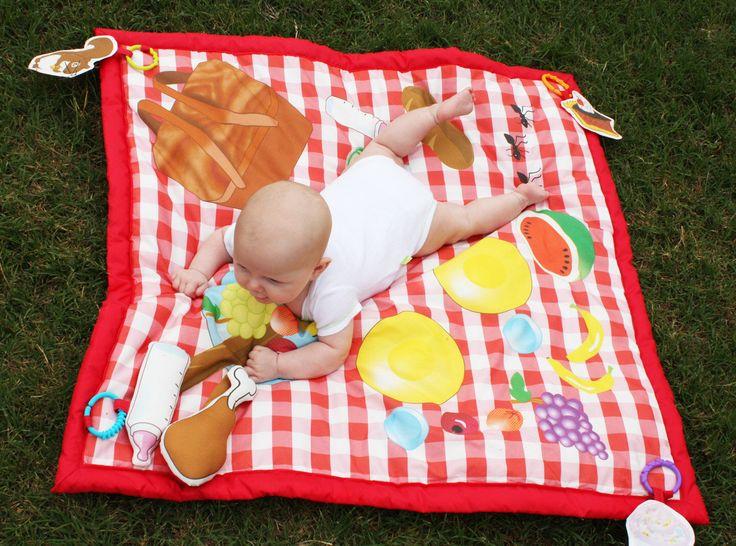 Pic-nic baby Gioca Stuoia tappetino impermeabile gioco, tappetino attività bambino, giocattoli del bambino, giochi all'aperto di estate, tappetino, stuoia di bambino, coperta da picnic di BBsForBabies su Etsy https://www.etsy.com/it/listing/99803368/pic-nic-baby-gioca-stuoia-tappetino