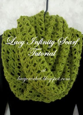 Lacy Infinity Scarf Tutorial