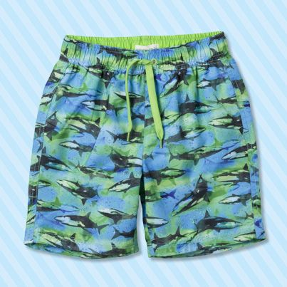 Pumpkin Patch Watercolour Fish Boardie - available in sizes 1 to 6 years http://www.pumpkinpatchkids.com/