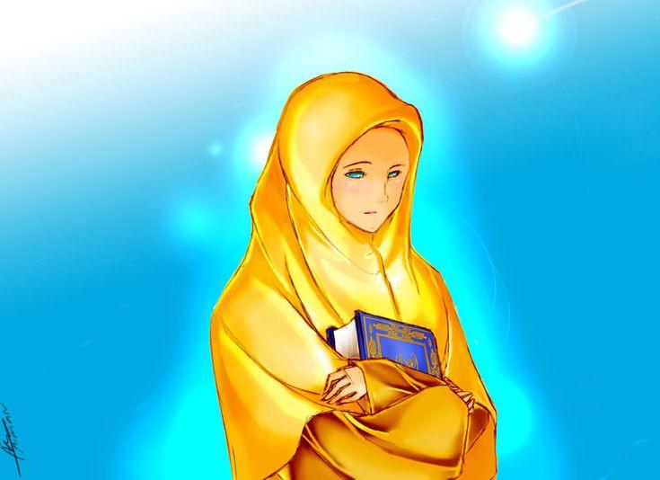 Jadilah perempuan islam & muslimah yang  B E R G U N A