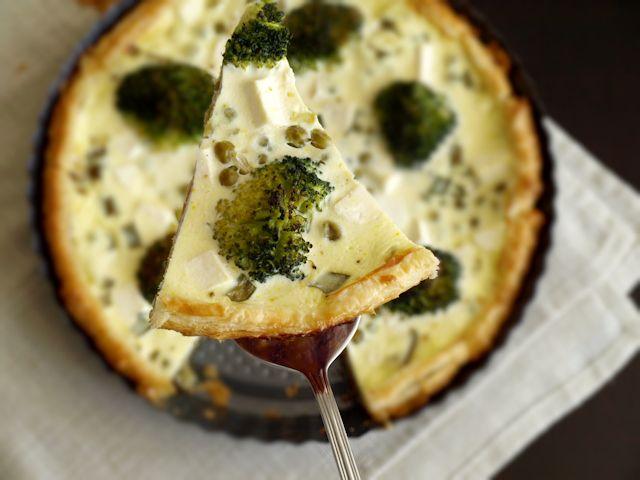 Tarta z brokułem