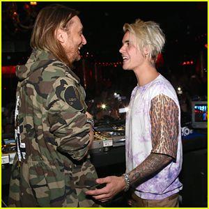 Justin Bieber Hits Up David Guetta's Set at Wynn Las Vegas After ...