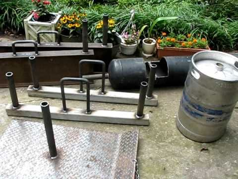 HOMEMADE STRONGMAN LOG | Homemade strongman equipment