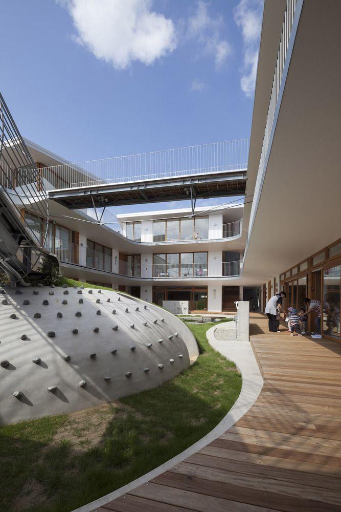 Gallery Of Amanenomori Nursery School / Aisaka Architectsu0027 Atelier   2