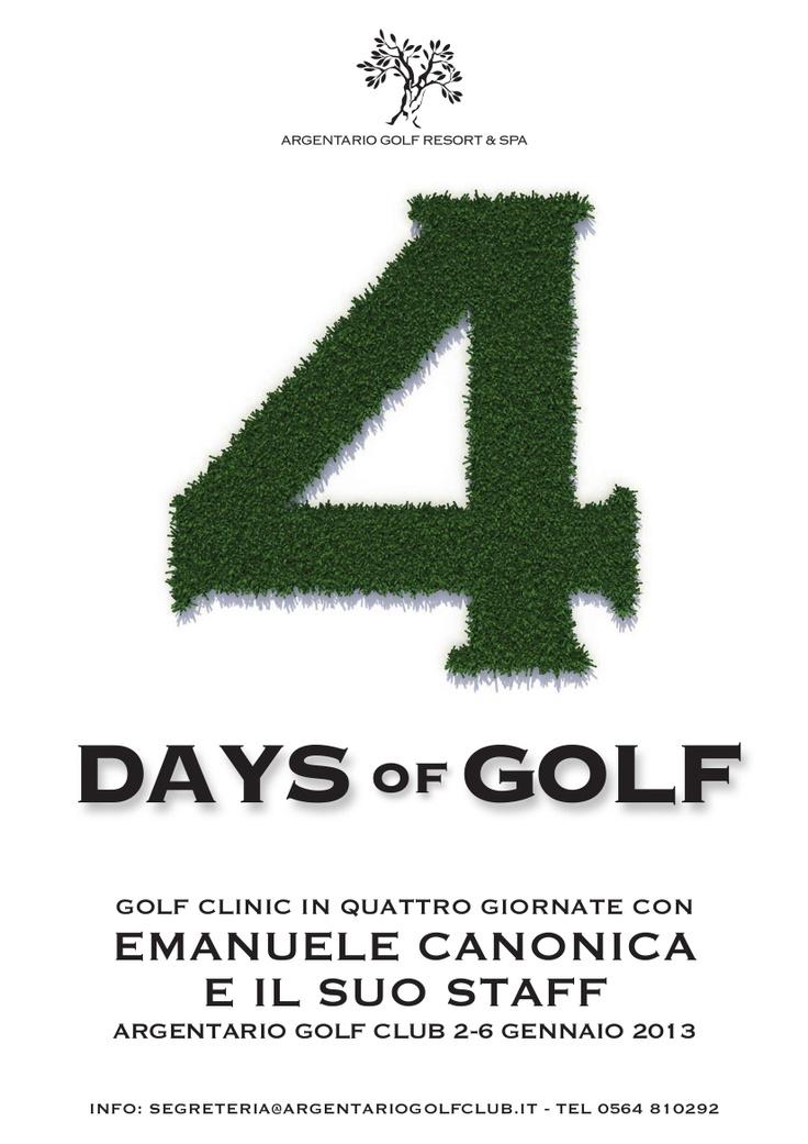 Golf clinic by Peppo Canonica