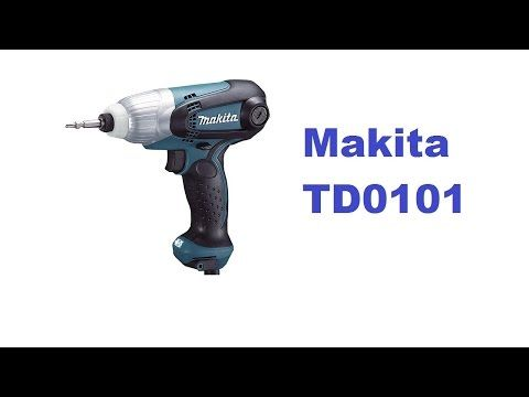 Parafusadeira Elétrica TD0101 Makita - YouTube