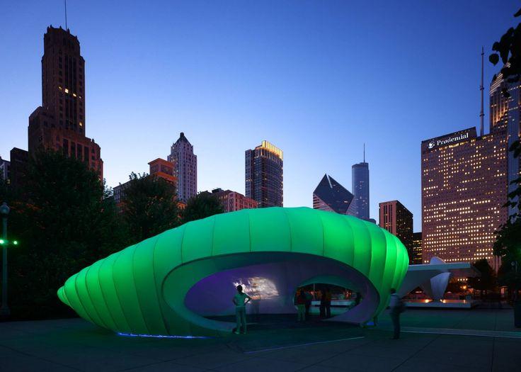 Burnham Pavillion - Architecture - Zaha Hadid Architects
