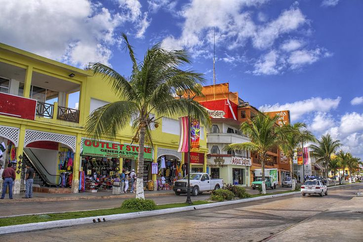 Shopping in Cozumel Mexico