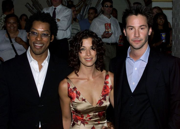 Keanu Reeves / Brooke Langton / Orlando Jones - The Replacements Premiere 2000