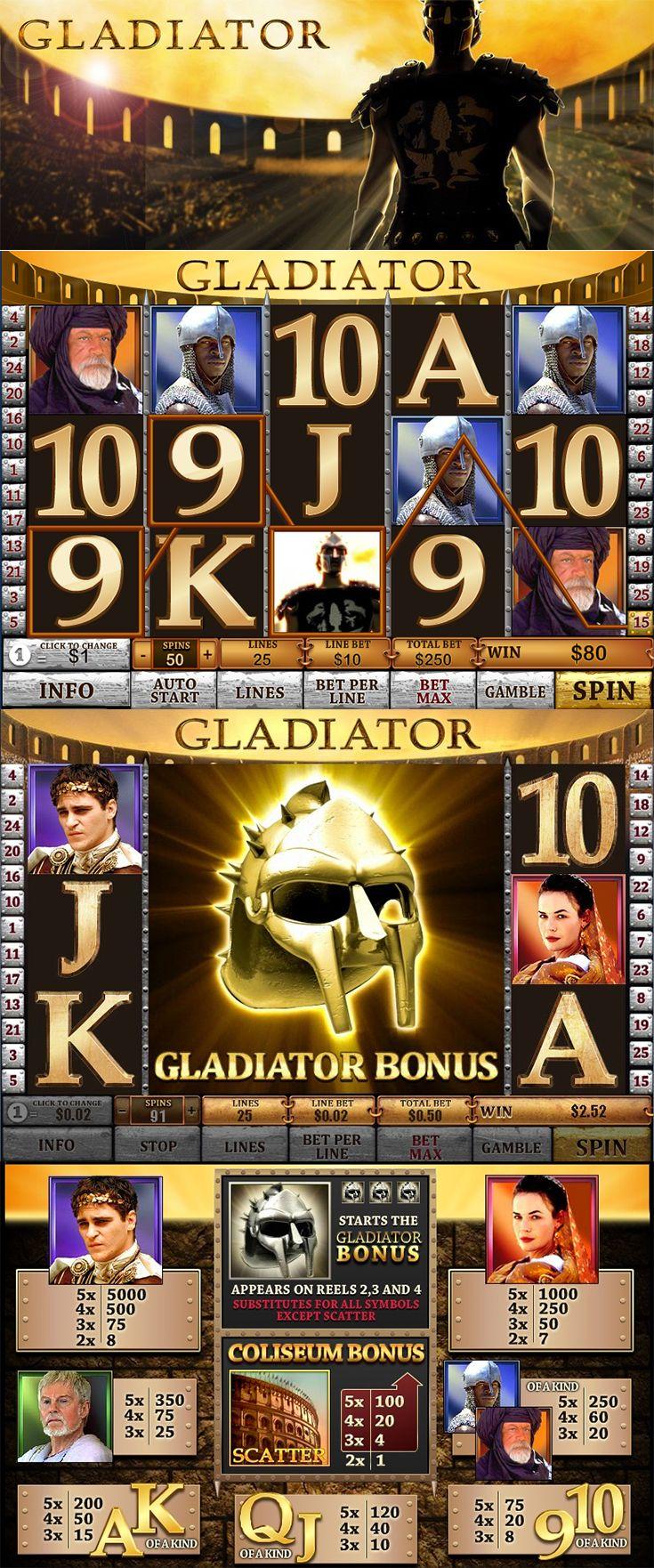 Win a вј400k progressive jackpot with gladiator jackpot slot mahoning winners]