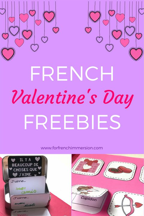 FREE French Resources for Valentine's Day! #frenchimmersion #lasaintvalentin #corefrench #frimm #forfrenchimmersion #frenchvalentinesday