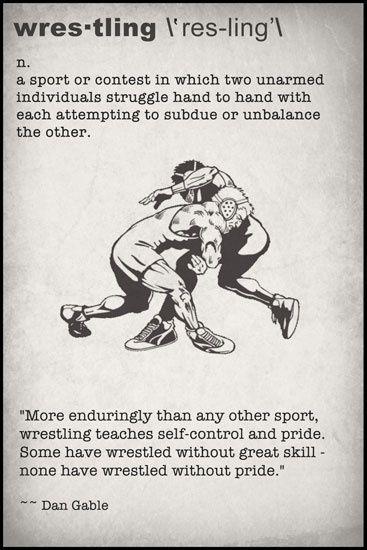wrestling definition