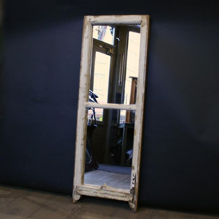 Antique sash window mirror for sale on SalvoWEB from Architectural Forum  [Salvo code - 87 Best Furniture - Reclaimed & Antique For Sale Images On