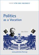 Politics as a vocation essay