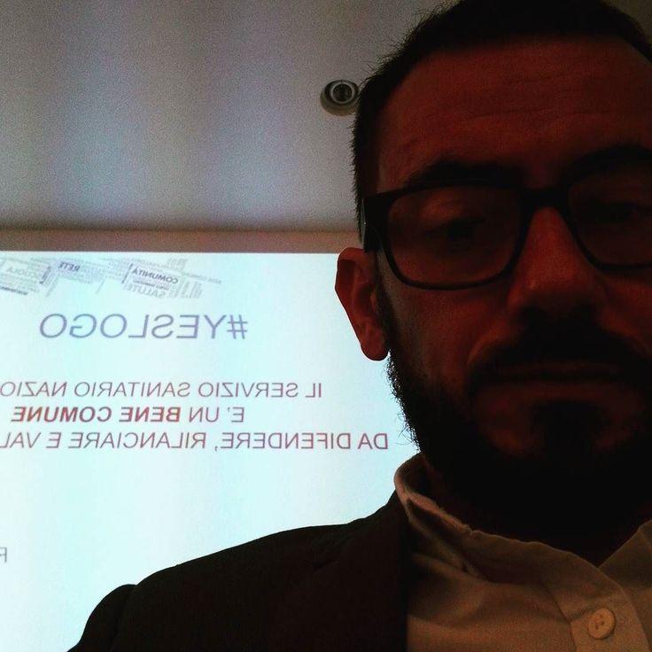 """Oggi la terza """"tappa"""" del progetto per dare un logo al servizio sanitario nazionale #yeslogo"""