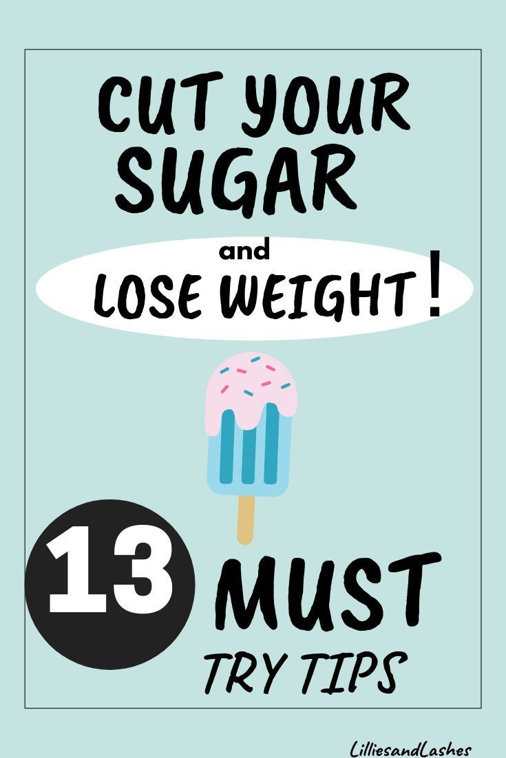 reduced sugar from diet and gai gained weight