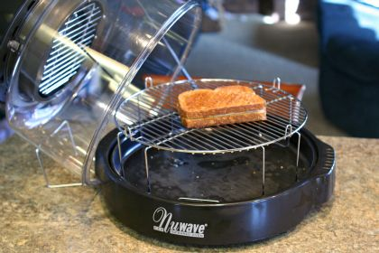 Perfectly Simple, Delicious Lunch: Grilled Cheese in the NuWave Oven @a r | Busy-at-Home