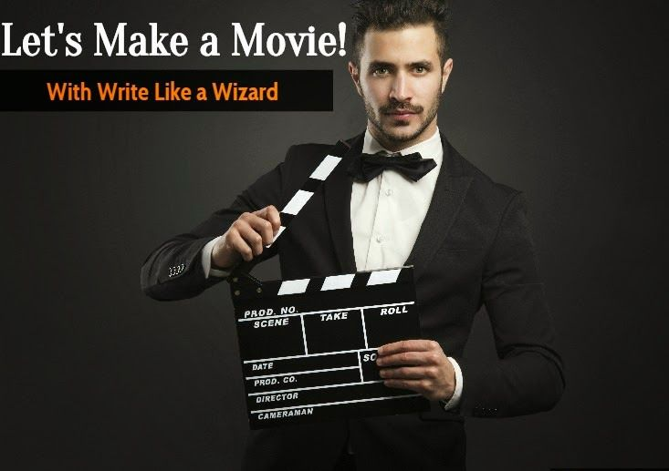 Write Like A Wizard: Let's Make a Movie! Playing for Keeps by, Glenda H...