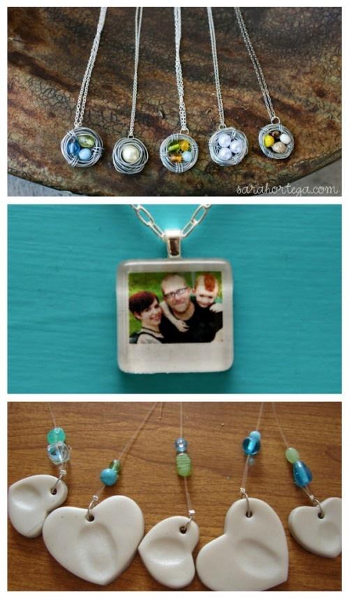 diy gifts: Mini Polaroid, Gift Ideas, Gifts, Minis, Minipolaroid, Necklaces, Diy, Craft Ideas, Polaroid Necklace