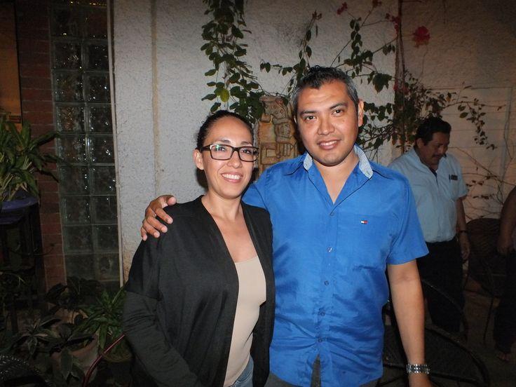 Angela Martinez y Victor Ortega