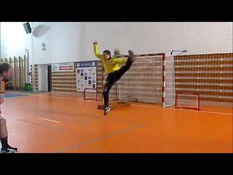 Handball Goalkeeper Speed Training - YouTube