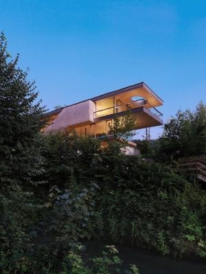 House On Berg Island, Berg Isel, Austria By: Elmar Ludescher Architekt