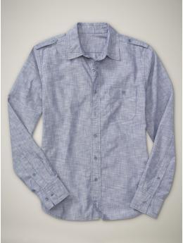 1969 Tailored Woven Shirt, Gap $59.95