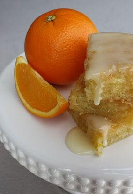 Orange Brownies! I'm always searching for this recipe and didn't know it was from Paula Deen! I change the glaze a bit: 1 C. powdered sugar, 2 Tbs. orange juice, 1 tsp. orange zest