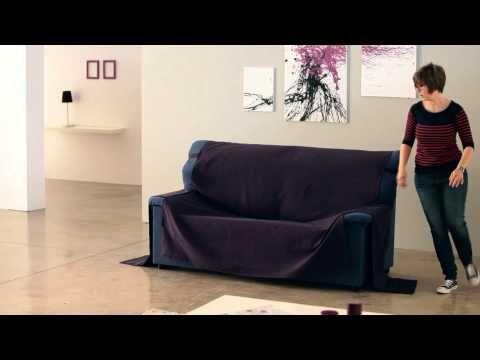 Cubre Sofá de Brazos Cosidos - YouTube