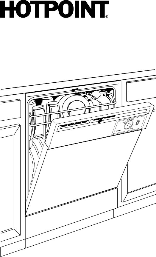 Page 2 of Hotpoint Dishwasher HDA2100N User Guide