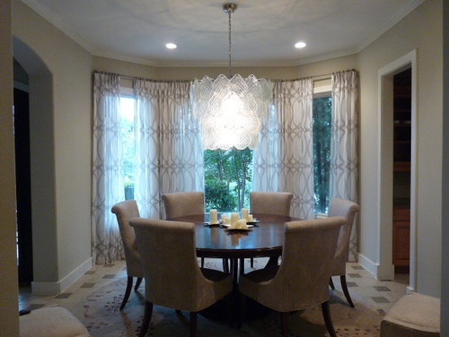 This Transitional Contemporary Dining Room By Austin Interior Design Firm Bates Associates LLC Is