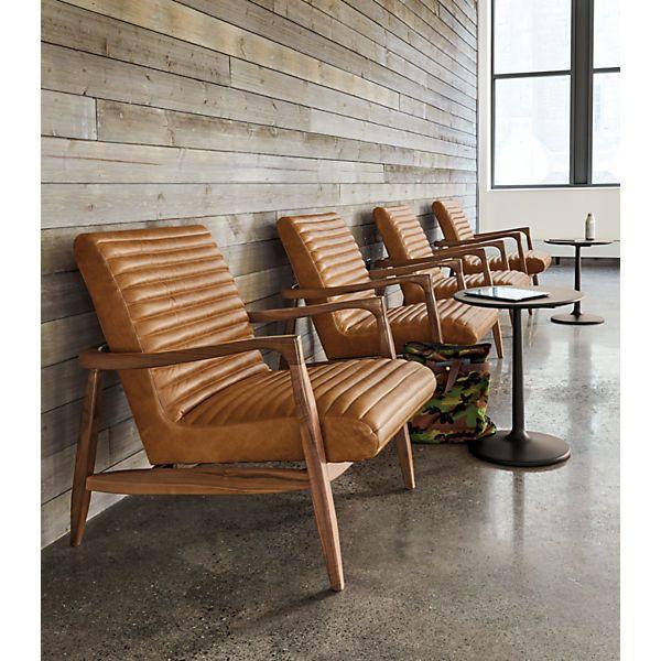 Callan Chair Ottoman Modern Accent Lounge Chairs Modern