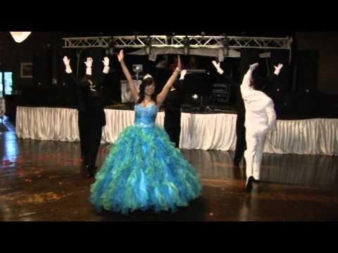 "Cynthia's beautiful quinceanera waltz. Dancing to ""When I look at you.""    El vals de Cynthia quinceanera. Bailando ""When I Look at you."""