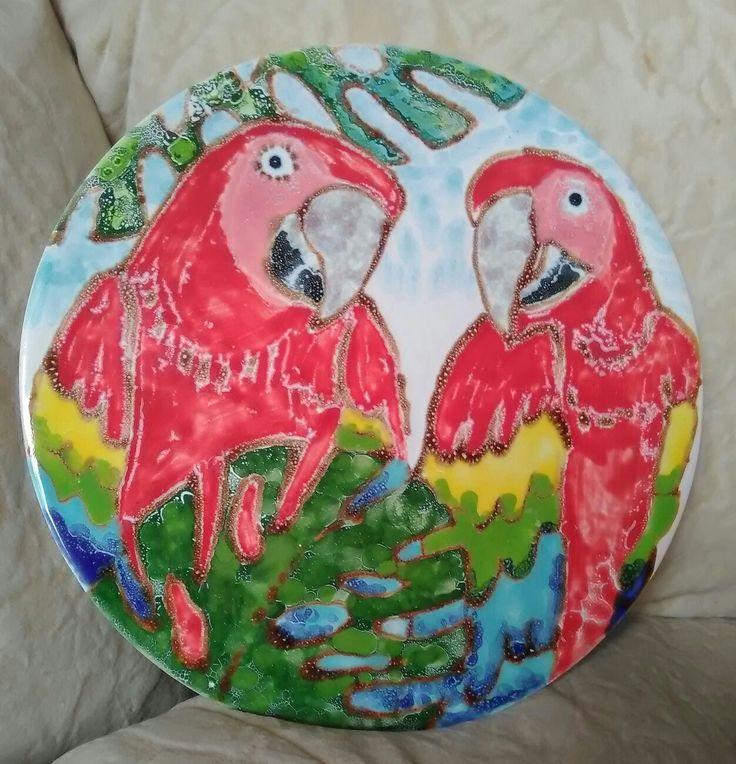 NV (Natalia V). Two parrots. 07.2014.
