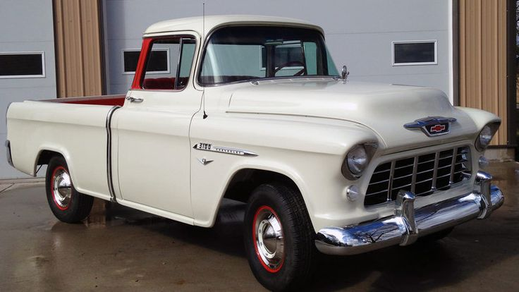252 best 55 Chevy Cameo Truck images on Pinterest | Auto glass ...