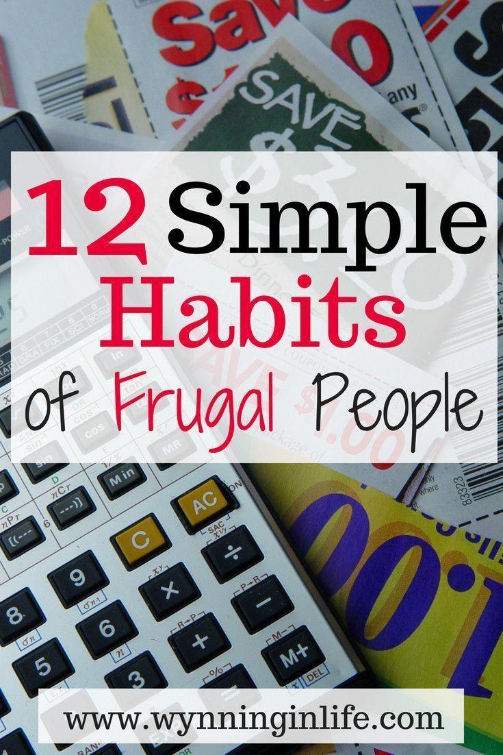 Bist du eine sparsame Person? Wahrscheinlich werden diese Gewohnheiten bei Ihnen mitschwingen. Je mehr yo …   – Frugal Living Tips