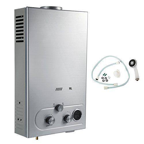 Propane Water Heater Tankless Gas Type Lpg Liquid Petroleum Gas Propane Capacity 18propane Water He Tankless Water Heater Gas Hot Water Heater Water Heater