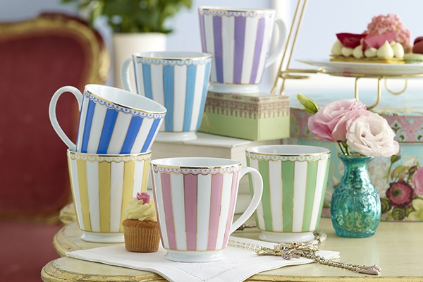 Noritake Carnivale Mugs. Available in 6 different colours. www.noritake.com.au