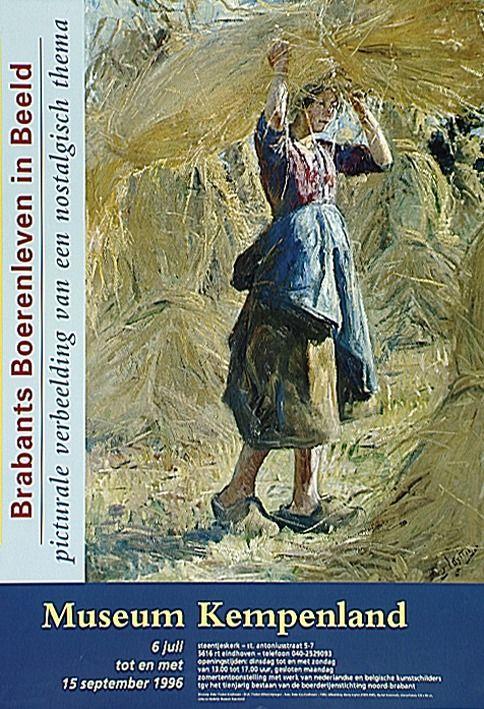 Schilderijententoonstelling over het Brabantse Boerenleven in Musaeum Kempenland