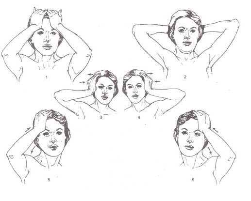 Isometric Neck Exercises these really worked for my neck and shoulders