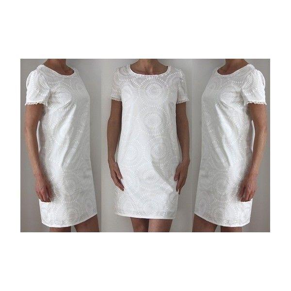 Patron couture - Robe en coton ou lin pour femme