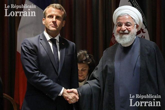 Calendrier Meeting Macron 2019.France Monde A New York Macron S Est Entretenu Avec Le