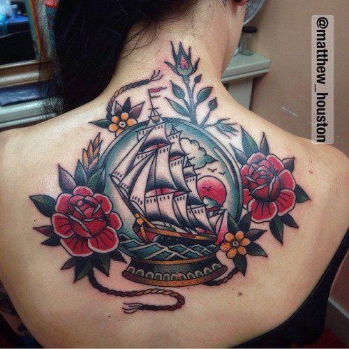 Einfach nur zeitlos! 20 traditionelle Tattoos - Tattoo des Tages 05.11.2015 | Funcloud
