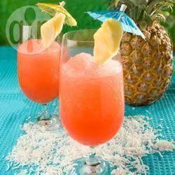 Bahama mama - Rum - Ananassap - Sinaasappelsap - Grenadine