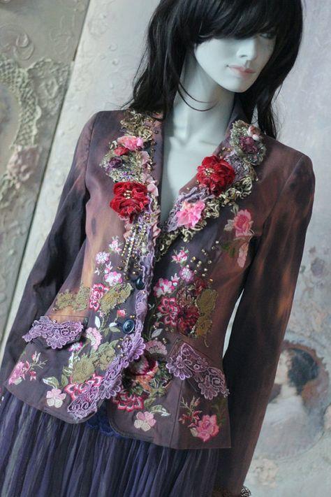 www.etsy.com/listing/490562134/coquette-jacket-ornate-festive -jacket. I love the colours on this one! Them again, everything FleursBoheme creates is amazing! **cheri**