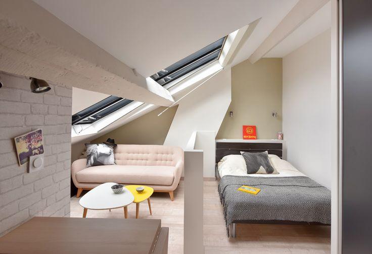 bienvenue chez coton r novation studio lyon 06 am nagement petit appartement optimisation. Black Bedroom Furniture Sets. Home Design Ideas