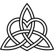 ... love knot triquetra celtic heart trinity eternal love knot show more